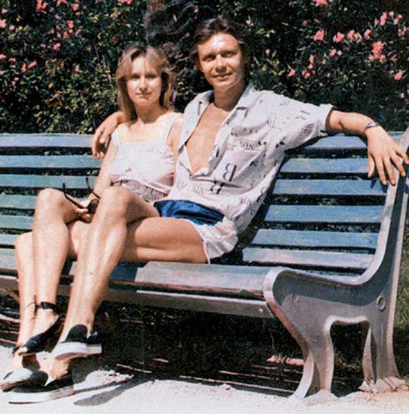 Ольга Прокофьева с мужем