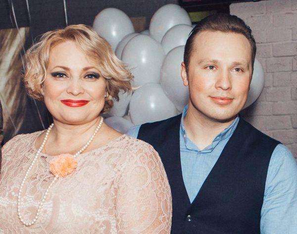 Светлана Пермякова с отцом дочери