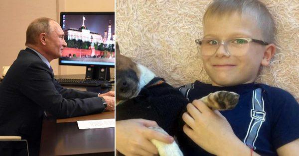 Владимир Путин исполнил мечту мальчика из Челябинска, победившего рак крови