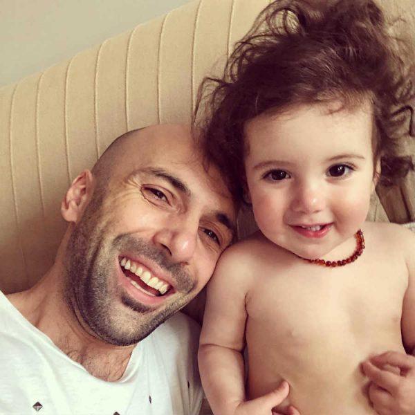 Евгений Папунаишвили с дочкой