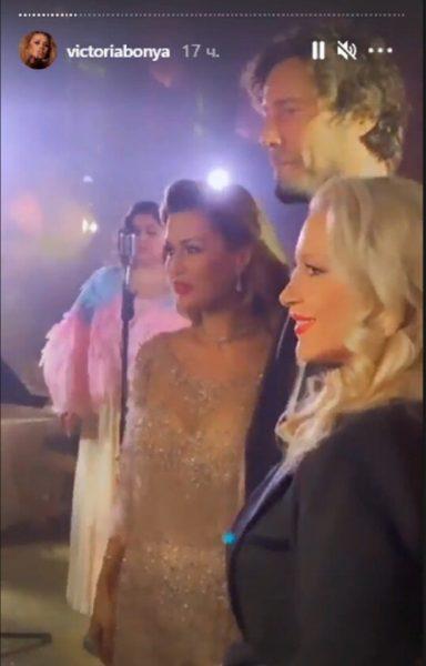 Боня, Сафин и Екатерина Одинцова