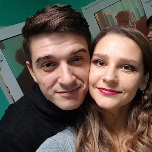 Глафира Тарханова с супругом
