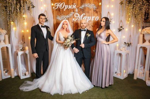 Свадьба Юрия Толочко с силиконовой женщиной,