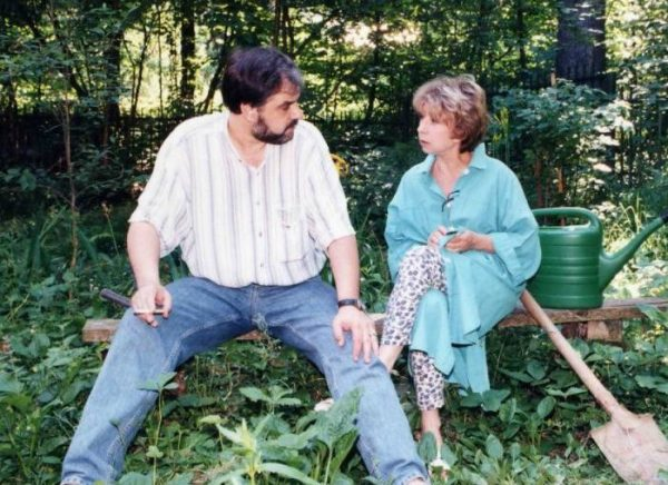 Владимир Персиянинов и Лия Ахеджакова