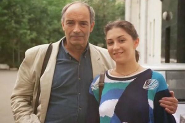 Валентин Гафт с дочерью Олей