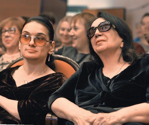 Гитана Леонтенко с дочерью Марией