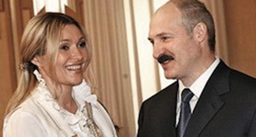 Анжелика Агурбаш и Александр Лукашенко,