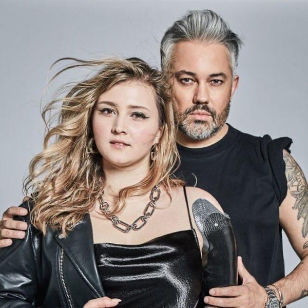 Александр Рогов и Любовь Давидонис