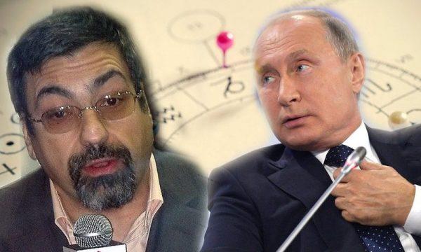 Павел Глоба и Владимир Путин