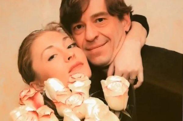 Анна Казючиц с мужем Егором Грамматиковым