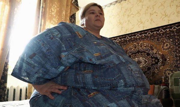 Наталья Руденко до похудения