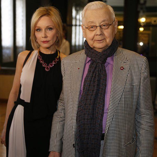 Олег Табаков и Марина Зудина.
