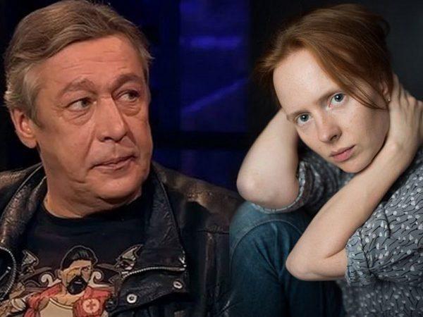 Михаил Ефремов и Дарья Белоусова