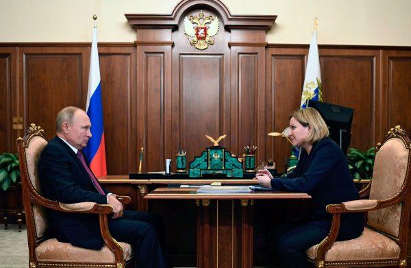 Путин, Любимова