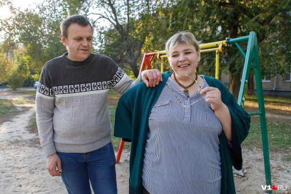 Наталья Руденко с супругом