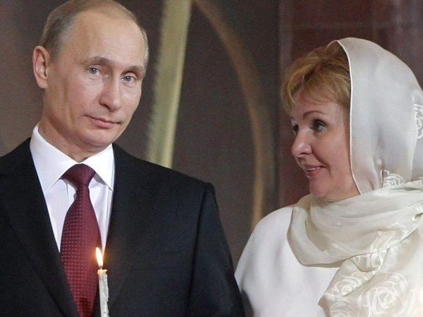 Владимир Путин и Людмила Путина
