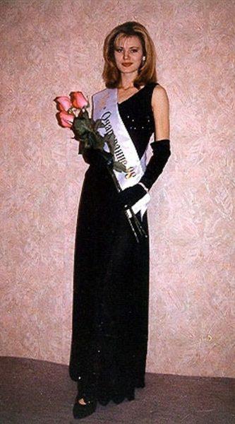 Элеонора Кондратюк на конкурсе красоты