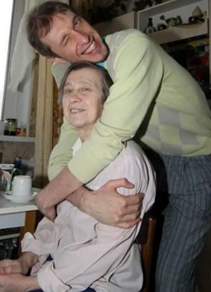Сергей Соседов с мамой