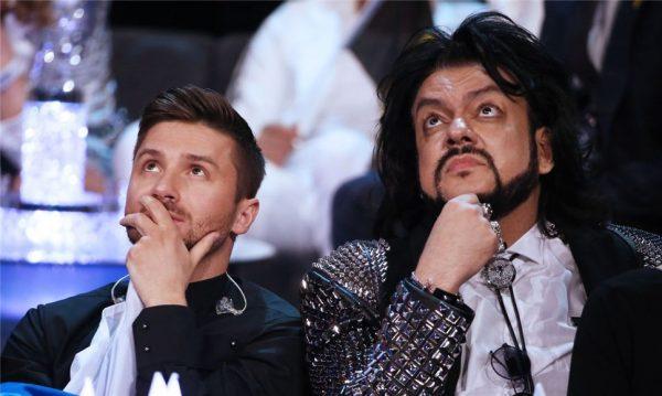 Сергей Лазарев и Филипп Киркоров,