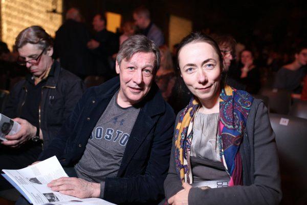 Михаил Ефремов с Софьей Кругликовой