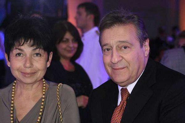 Геннадий Хазанов с женой
