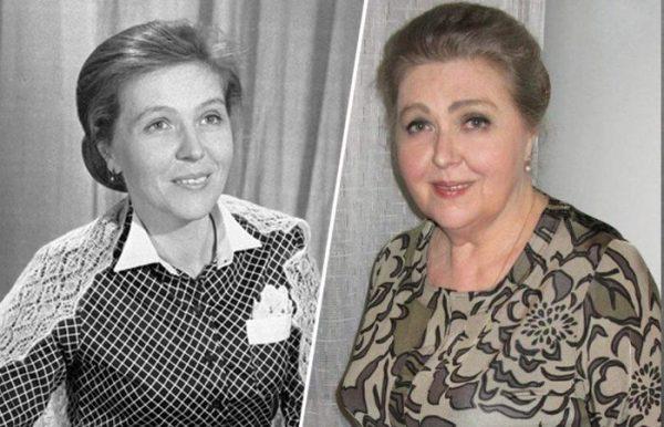 Юлия Белянчикова в молодости и в зрелом возрасте
