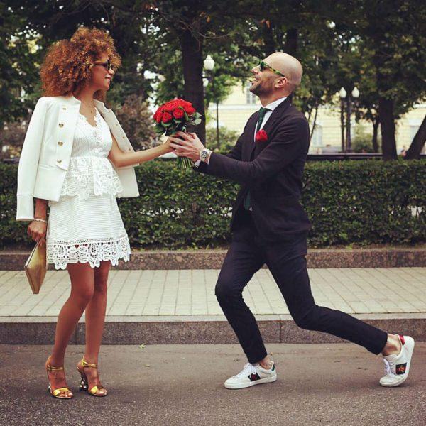 Евгений Папунаишвили с женой