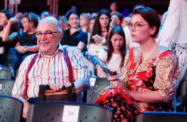 Татьяна Брухунова и Евгений Петросян,