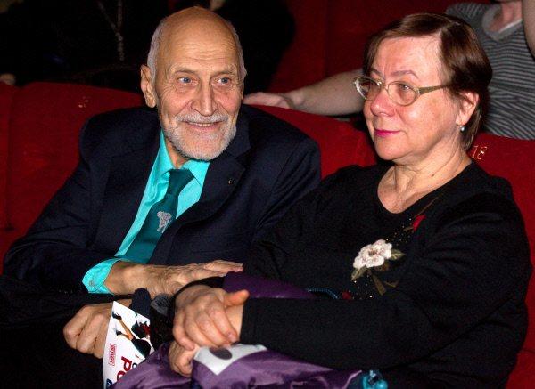 Николай Дроздов с женой Татьяной.