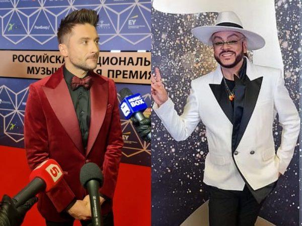 Сергей Лазарев, Филипп Киркоров,