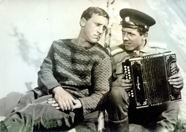 Золотухин и Высоцкий
