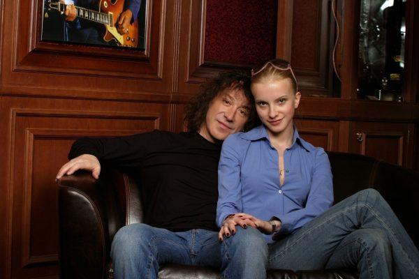Владимир Кузьмин с женой