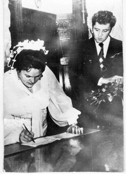 Свадебное фото Людмилы Зыкиной