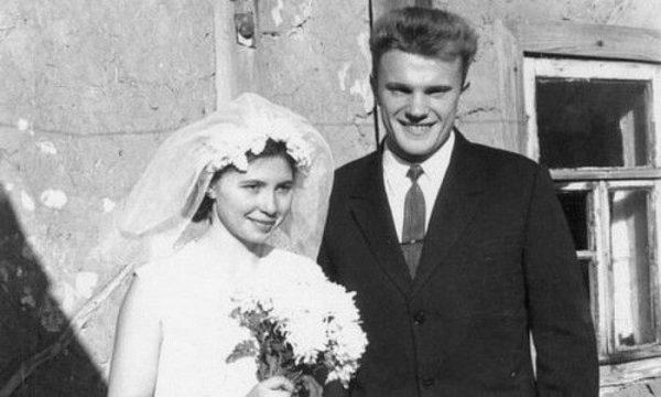 Свадебное фото Геннадия Зюганова