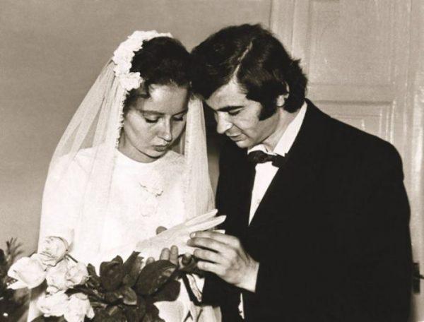 Илья Клявер на свадьбе