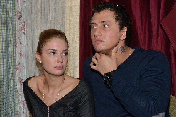 Агата Муцениеце с Павлом Прилучным