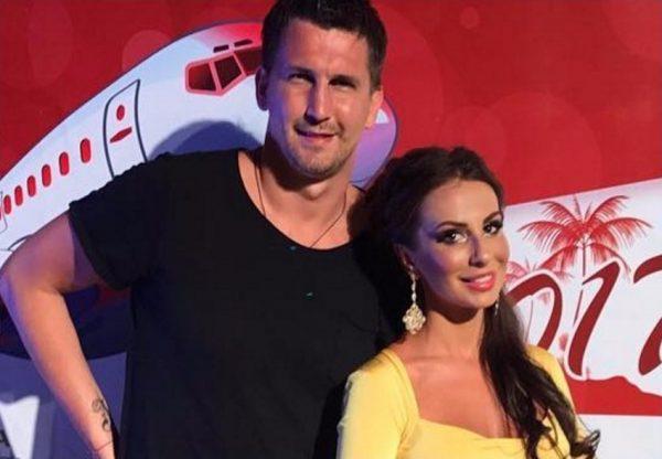 Анна Грачевская с мужем