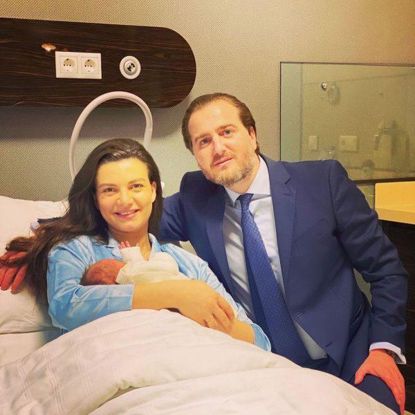 Князь Грузии с женой и ребенком