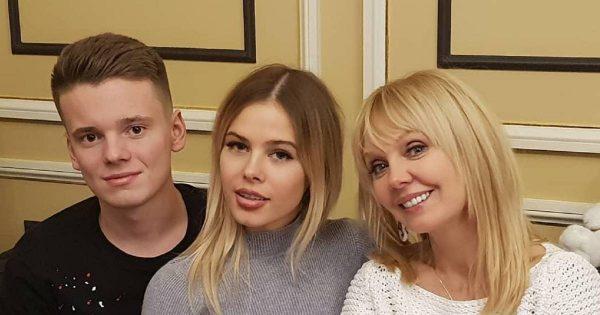 Семейное фото певицы Валерии