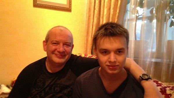 Дмитрий Марьянов с сыном