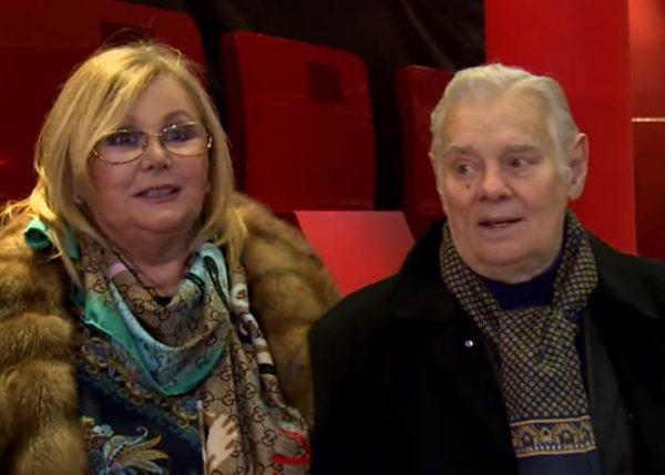 Наталья Селезнева с мужем