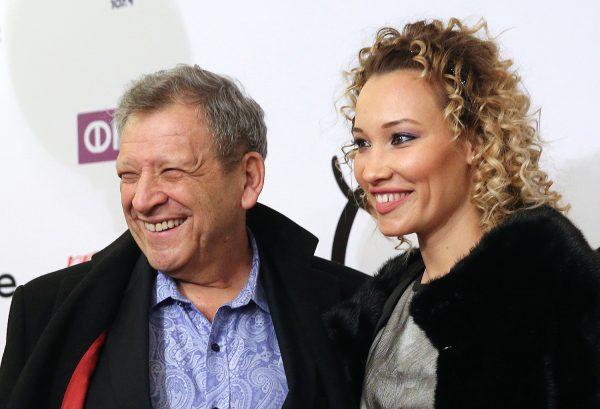 Борис Грачевский с молодой женой