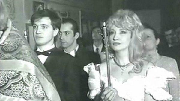 Венчальное фото Аллегровой и Игоря Капусты