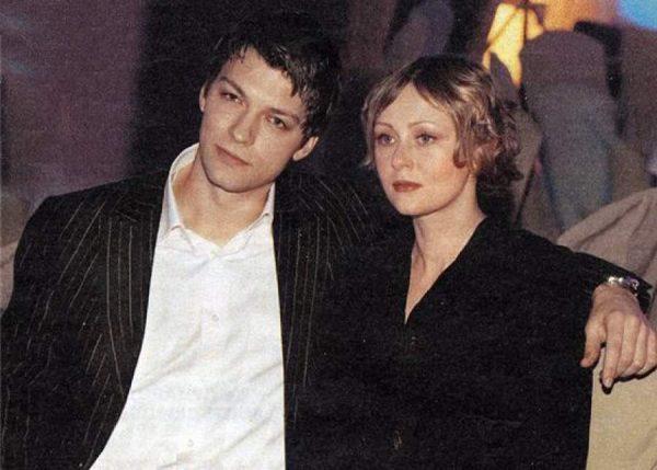 Даниил Страхов с женой
