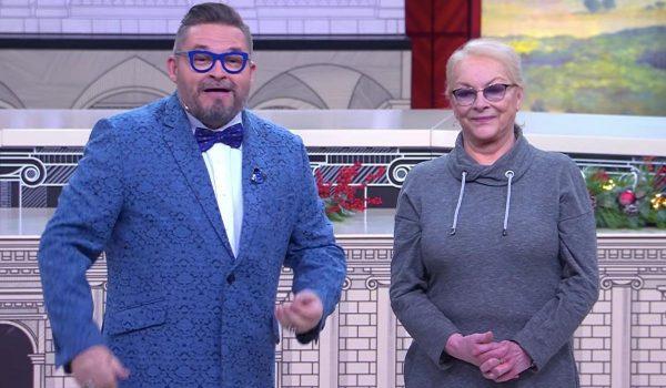 Александр Васильев и Барбара Брыльска