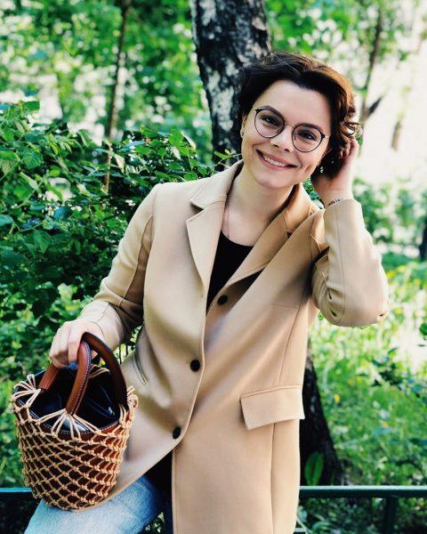 Татьяна Брухунова с новой сумочкой