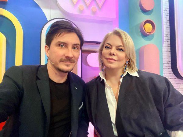 Яна Поплавская с Евгением Яковлевым