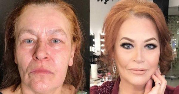 Ирина до и после преображения