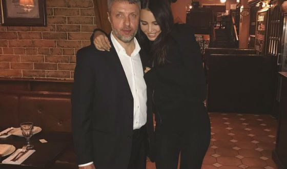 Анастасия Решетова с папой - настоящим полковником:)