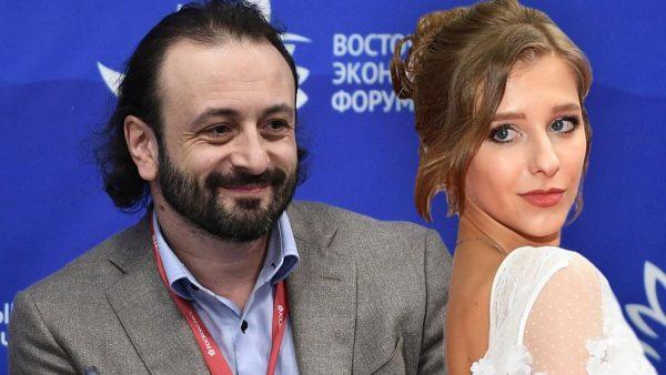 Илья Авербух и Лиза Арзамасова.